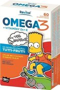 Revital OMEGA 3 + VITAMÍNY D3 + E The Simpsons
