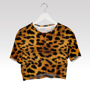Wayfarer Crop-top tričko Panther