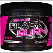 Stacker2 Black Burn Micronized, 300 g lemon-lime + doprava zdarma