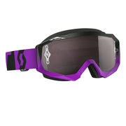 Moto okuliare SCOTT Hustle oxide purple-black-silver chrome
